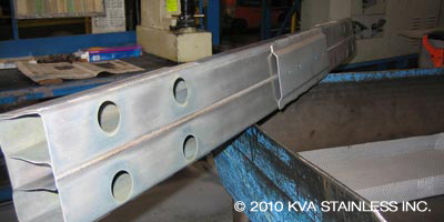 Automotive front bumper beam