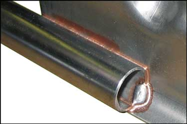 Brazing stainless steel
