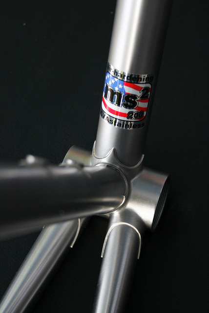 <h2><b>A-train Cycles - Hand Built Bicycles</h2></b><br>Alex Cook is using <b>KVA (MS2) Stainless Steel Bike Tubing</b> to fabricate a stainless steel bicycle. <br><a href=' http://atraincycles.com/'>Click here to visit A-train Cycles </a> - General Photos