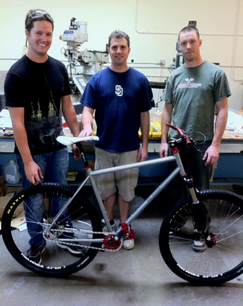 <h2><b>KVA Mountain Bike made with MS2 Tubing</h2></b><br><b>Joe McCrink, Scott Johnson & Daniel Wilcox</b><br><a href='http://www.kvastainless.com/tubing-info.html'>Click here to visit KVA Stainless</a> - General Photos